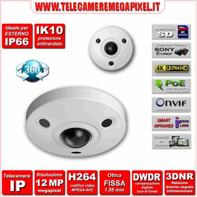 Telecamera 360° IPC-EBW81200
