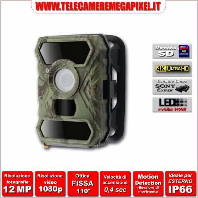 Fototrappola -WN-FT30C-12-megapixel - Fototrappola Professionale 12 Megapixel