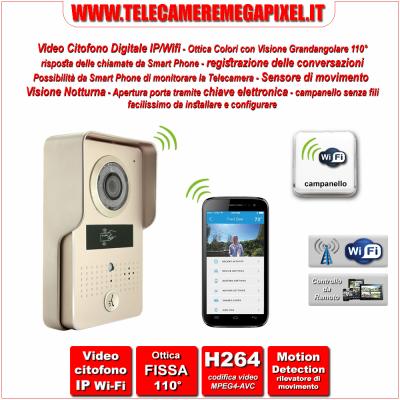 Telecamere ip wifi archivi telecamere video for Costo videocitofono