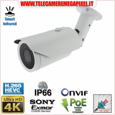 Telecamera 4k Ultra HD codec h265