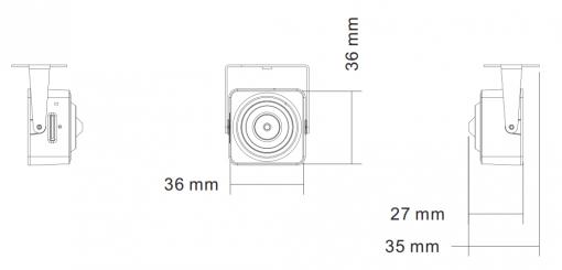 Microtelecamera WN-IP2MPSDWIFI-03