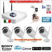 Kit WIFI 4 Megapixel