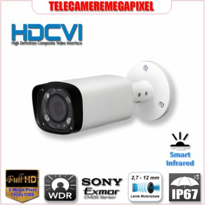 HAC-HFW2221R-Z - Telecamera HDCVI - 2.1 megapixel - WDR - Smart IR - IP67