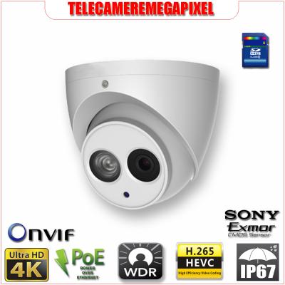 IPC-HDW4830EM-AS - Telecamera - 8 megapixel - H265 - IP67 - Memoria SD