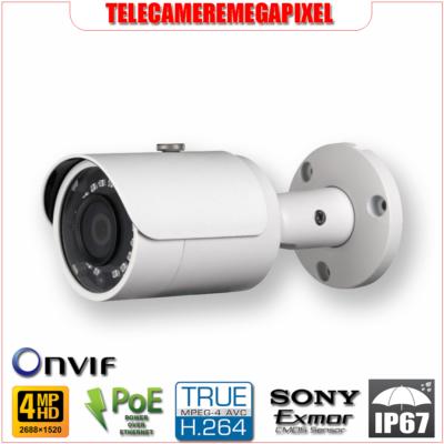 IPC-HFW1420S - Telecamera Dahua – 4 Megapixel – Ottica Fissa 3,6 mm – Codec H265 H264