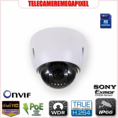 SD42212T-HN - Telecamera - 2 megapixel - H264 - PTZ - Zoom ottico 12x - IP66