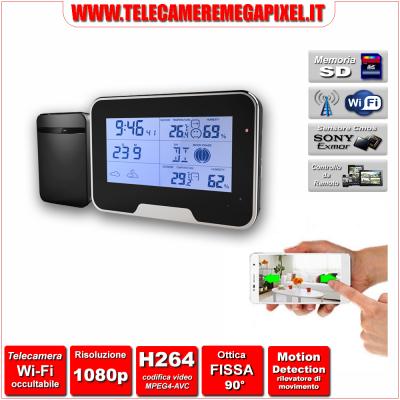 WN-532W-02 Telecamera Spia Wi-Fi occultabile – Risoluzione 1080P – Ottica fissa 90°