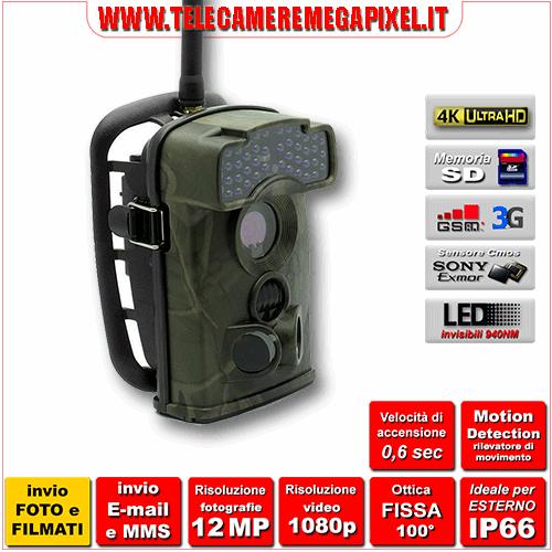 Fototrappola Professionale INVIO FOTO e VIDEO Ltl-6310WMG-3G