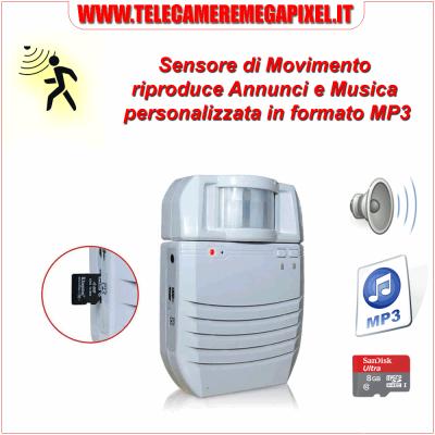CAMPANELLO SENSORE DI MOVIMENTO MP3 – PIR - WN-bllpir1-04