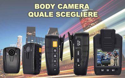 Guida all'acquisto delle Body Cam Polizia o Body Camera