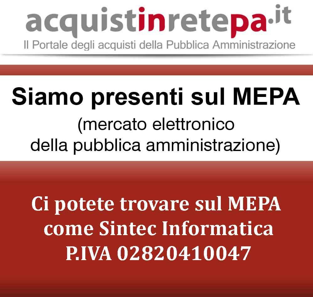 MEPA Acquisti in rete PA