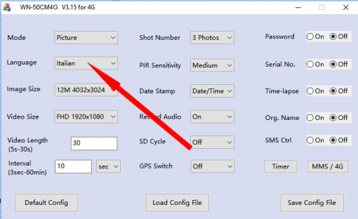 fototrappola 4G LTE GPS