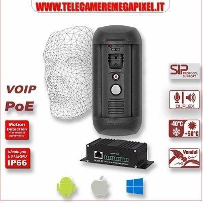 videocitofono IP Beward SIP Onvif SIP face detection