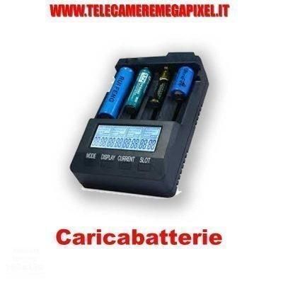caricabatterie con display