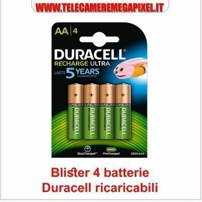 batterie stilo AA NiMH