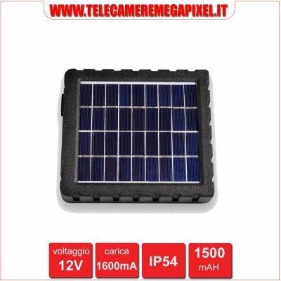 pannello solare fototrappola