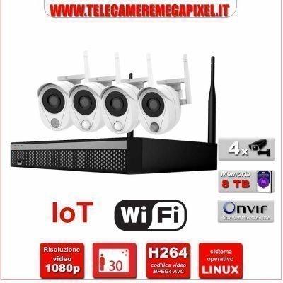 Kit videosorveglianza IoT