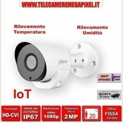 HAC-LC1220T-TH telecamera con sensore temperatura