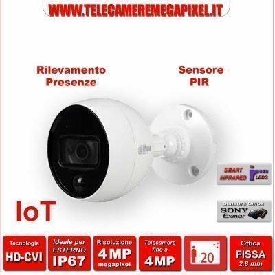 HAC-ME1400B-PIR telecamera con sensore di presenze