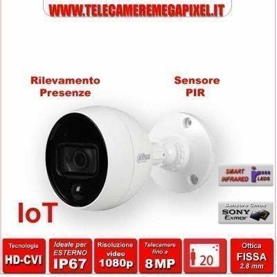 HAC-ME2802B-PIR telecamera IoT