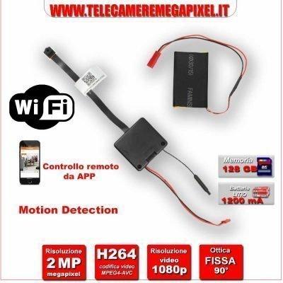 Telecamera occultabile wifi