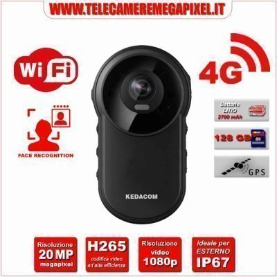 Kedacom Bodycam 4G WIFI DSJ-U1LPN
