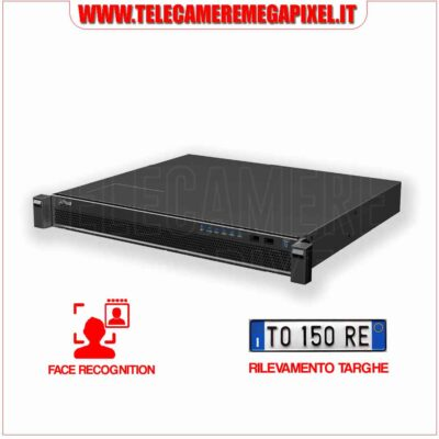 Server Dahua DSS4004-FACE RECOGNITION-RILEVAMENTO TARGHE