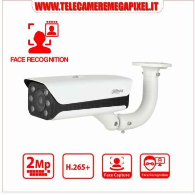 Telecamera IPC-HFW8242E-Z4FR-IRA-LED - face recognition