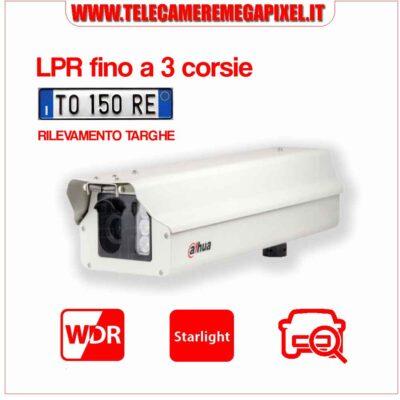 Telecamera Dahua RILEVAMENTO TARGHE ITC602-RU1A-HL