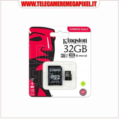 Memoria SD 32GB Kingston WN-SD01