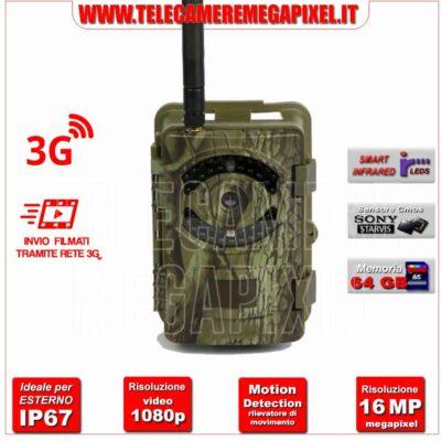 Fototrappola Professionale 16MP–3G WN-20CM