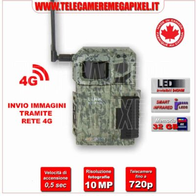 Fototrappola Spypoint LINK-MICRO 4G