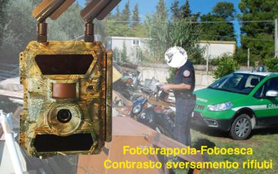Fototrappola – Fotoesca per il contrasto dello sversamento dei rifiuti – Videosorveglianza discariche